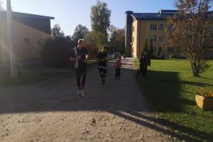 """Piedalīšanās projektā """"Sporto visa Latvija"""""""